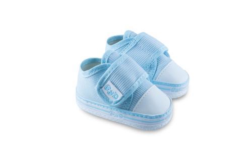 Zapatilla de Bebé de Corderoy Celeste