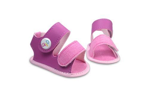 Sandalia de bebé  Fucsia