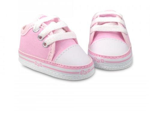 Zapatilla de Bebé Lona Color Rosa